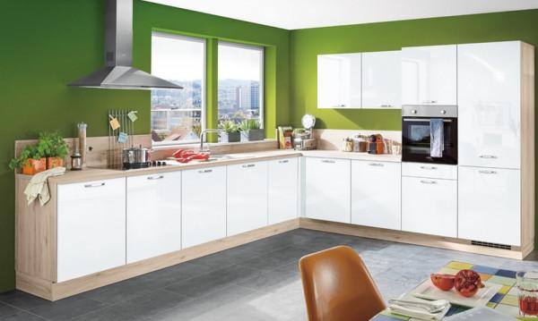 Flash - Granat-Einbauküche-27196-1