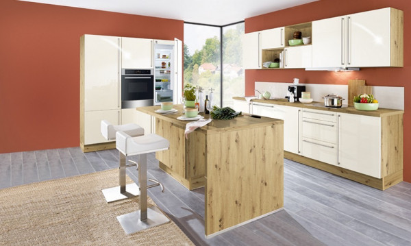 Susann - Rhodonit-Einbauküche-28245-1