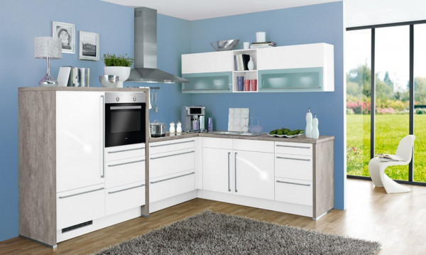 Gloriette - Quarz-Einbauküche-27168-1