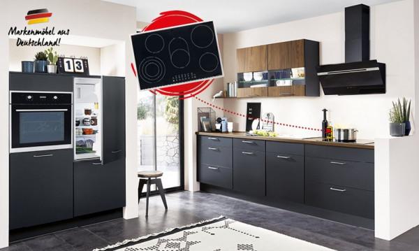Touch - Smaragd - Midland-Einbauküche-27162-1